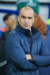 LIVERPOOL, ENGLAND - Sunday, January 24, 2016: Everton's manager Roberto Martinez in before the Premier League match against Swansea City at Goodison Park. (Pic by David Rawcliffe/Propaganda)