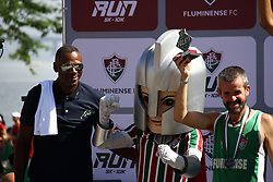 November 12, 2017 - Brazil - RIO DE JANEIRO, RJ - 12.11.2017: FLUMINENSE RUN - Olympic medalist Robson Caetano at the Fluminense Run Awards, the first official street race of the Tricolor Club. This Sunday (12) through the streets of the Marvelous City Center, with departure and arrival in Plaza Mau(Credit Image: © Fotoarena via ZUMA Press)