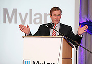 No fee for Repro: 18/04/2012.Taoiseach Enda Kenny TD announces Mylan's decision to invest $430 million and create in excess of 500 new jobs at its Galway and Dublin facilities...An Taoiseach Enda Kenny TD is pictured at the announcement by the Irish Development Authority (IDA), and Mylan one of the world's largest generics and speciality pharmaceutical companies, is expected to create more than 500 new jobs at its Galway and Dublin facilities by the end of 2016. Pic Jason Clarke Photography.