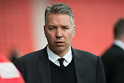 Doncaster Rovers Manager Darren Ferguson  during the EFL Sky Bet League 2 match between Doncaster Rovers and Blackpool at the Keepmoat Stadium, Doncaster, England on 17 April 2017. Photo by Craig Zadoroznyj.