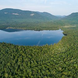 Rock Pond and Tumbledown Mountain in Northwest Somerset, Maine. Boundary Mountains region. Site of proposed CMP transmission corridor.
