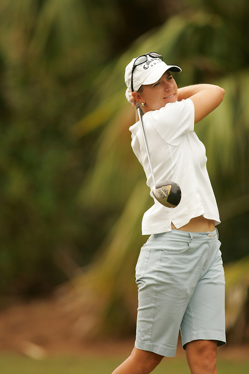 Annika Sorenstam..2004 ADT Championsip..Final Round.Trump International GC.West Palm Beach, FL.Sunday, November 21 2004..photograph by Darren Carroll..X72281 Tk 2