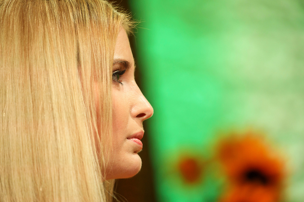 Ivanka Trump, daughter of Republican Presidential Nominee Donald Trump, listens during the Fortune Most Powerful Women Summit in Dana Point, California, U.S., on Wednesday, October 19, 2016. The summit brings preeminent women in business and leadership together for discussions and high-level networking. © 2016 Patrick T. Fallon