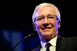 Paul O'Grady performs live at the Hay Festival Hay On Wye Wales - Image Copyright Ben Pruchnie Photographer B3968. EXPA Pictures © 2015, PhotoCredit: EXPA/ Photoshot/ Ben Pruchnie<br /> <br /> *****ATTENTION - for AUT, SLO, CRO, SRB, BIH, MAZ only*****