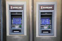 AIB Banklink ATM machines in Temple Bar Dublin Ireland