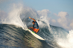 BALI, INDONESIA - MAY 19: Michael Rodrigues of Brazil advances to Round 4 of the 2019 Corona Bali Protected after winning Heat 2 of Round 3 at Keramas on May 19, 2019 in Bali, Indonesia. (Photo by Matt Dunbar/WSL via Getty Images)
