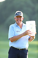 Colin Montgomerie<br /> After winning the JAL Seniors Championship 2017<br /> He carded a final round five-under 67 to win the Japan Airlines Championship, the first PGA Tour Champions Event in Japan<br /> With the trophy<br /> <br /> Picture Credit: Mark Newcombe/visionsingolf.com