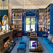 NLD/Den Haag/20190703 - Bezichtiging kamers paleis Huis ten Bosch, De bibliotheek