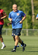 Glenn Myernick, assistant coach, on Wednesday, May 17th, 2006 at SAS Soccer Park in Cary, North Carolina. The United States Men's National Soccer Team held a training session as part of their preparations for the upcoming 2006 FIFA World Cup Finals being held in Germany.