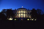 White House from the South Lawn at night<br /> <br /> White House State Dinner the President and Mrs. Obama host the President of Finland Sauli Niinisto, the Prime Minister of Sweden, Stefan Lofen, the Prime Minister of Norway, Erna Holberg, the Prime Minister of Denmark Lars Lokke Rasmussen and the Prime Minister of Iceland, Sigurdur Ingi Johannsson,