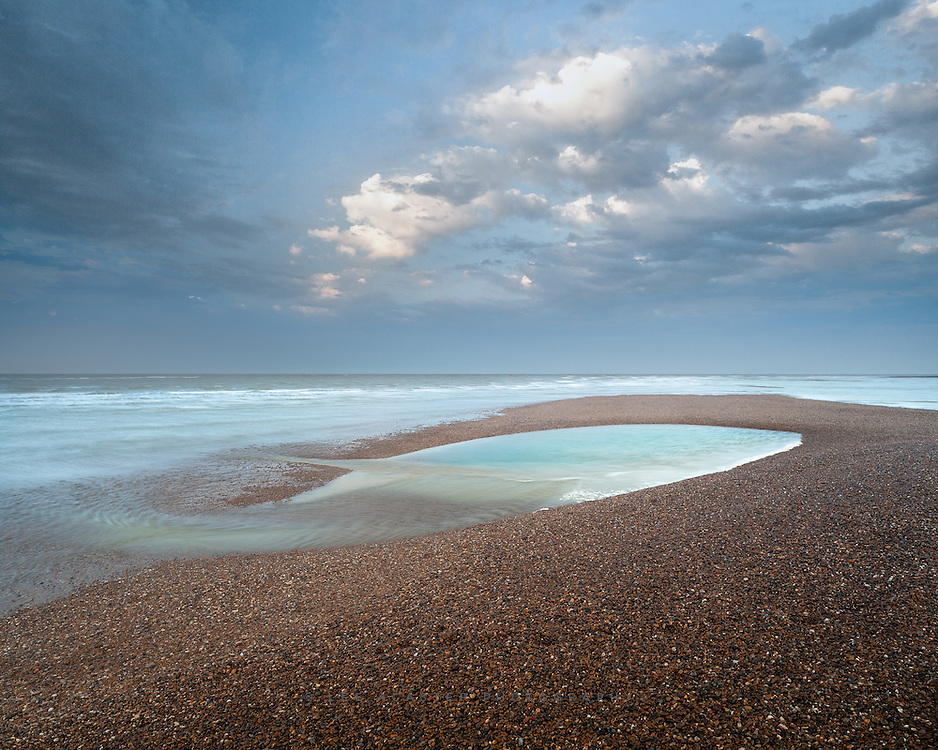 Obligatory visit to Shingle Street last week, but my first at sunset. It had quite a different feeling to it than it does at sunrise, but the change in direction of light added a new dimension.