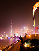 View from the terrace at M on the Bund.