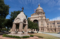 Defenders of the Alamo Statue at Texas Capitol