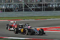 Jenson Button (GBR) McLaren MP4-29.<br /> United States Grand Prix, Sunday 2nd November 2014. Circuit of the Americas, Austin, Texas, USA.