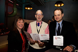 29/10/2015<br /> IAB Conference at the Guinness Storehouse.<br /> (l-r):<br /> Gemma Costello (Failte Ireland);<br /> Stephen Dudley (Failte Ireland) and<br /> John Wainio (PwC).