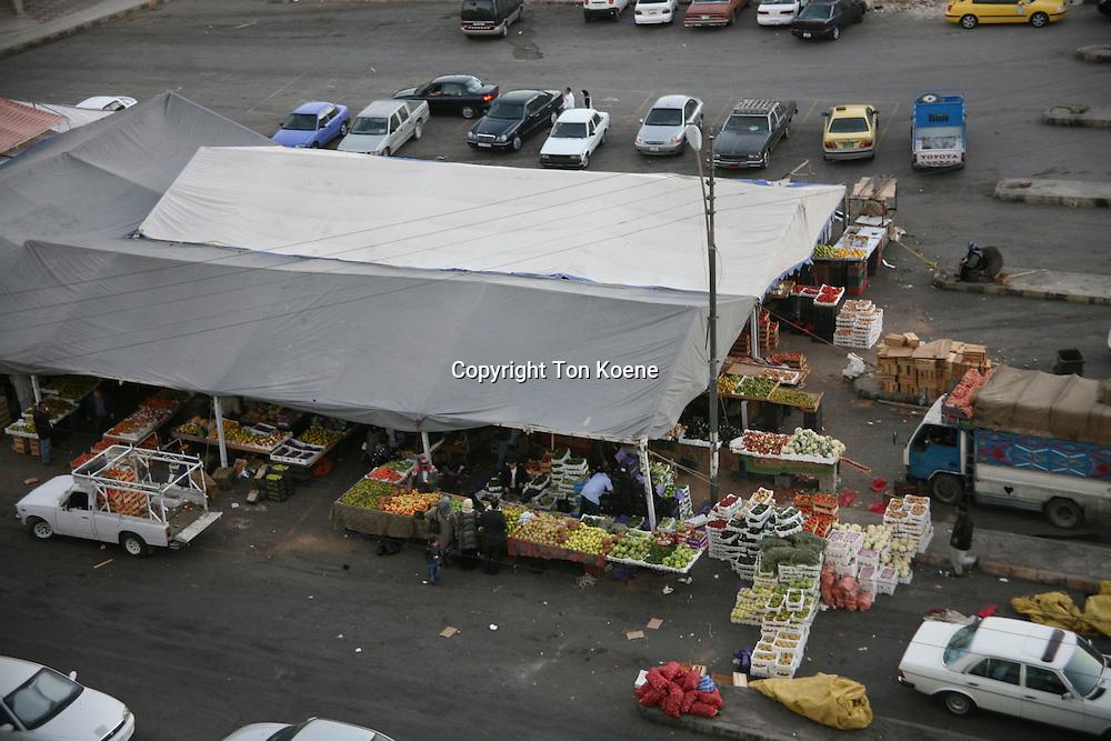 market in Amman, Jordan
