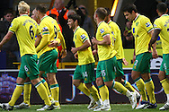 Picture by Paul Chesterton/Focus Images Ltd.  07904 640267.10/12/11.Wes Hoolahan of Norwich opens the scoring and celebrates during during the Barclays Premier League match at Carrow Road Stadium, Norwich.