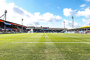General stadium view inside Kenilworth Road before the EFL Sky Bet League 1 match between Luton Town and Oxford United at Kenilworth Road, Luton, England on 4 May 2019.