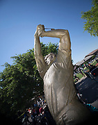 THE SATUE OF THE KING MR ARMOLD PALMER (USA) during  the The Arnold Palmer Invitational Championship 2017, Bay Hill, Orlando,  Florida, USA. 14/03/2017.<br /> Picture: PLPA/ Mark Davison<br /> <br /> <br /> All photo usage must carry mandatory copyright credit (&copy; PLPA | Mark Davison)