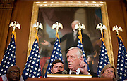 "Dec 15, 2010 - Washington, District of Columbia, U.S. -  House Majority Leader STENY HOYER (D-MD) speaks to the media following the U.S. House of Representatives passing a stand-alone version of a bill to repeal the ""Don't Ask Don't Tell"" law.  (Credit Image: © Pete Marovich/ZUMA Press)"