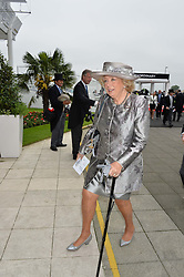KIRSTEN RAUSING at the Investec Derby at Epsom Racecourse, Epsom, Surrey on 4th June 2016.