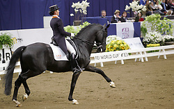 Van Grunsven Anky (NED) - IPS Painted Black<br /> FEI World Cup Dressage - Grand Prix<br /> Gˆteborg 2010<br /> © Hippo Foto - Lotta Gyllensten