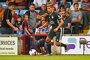 Marc Albrighton of Leicester City (11) in action during the Pre-Season Friendly match between Scunthorpe United and Leicester City at Glanford Park, Scunthorpe, England on 16 July 2019.