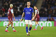 Leicester City midfielder James Maddison in action during the Premier League match between Leicester City and Aston Villa at the King Power Stadium, Leicester, England on 9 March 2020.