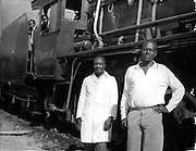Nubians worked for the East African Railways and were instrumental in the construction of the Uganda railroad.  (1962)
