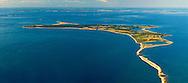 New York, Gardiners Island, Atlantic Ocean