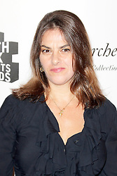 © Licensed to London News Pictures. 27/01/2014, UK. Tracey Emin, The South Bank Sky Arts Awards, Dorchester Hotel, London UK, 27 January 2014, Photo by Richard GoldschmidtJodie