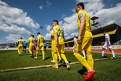 NK Domzale players during Football match between NK Domzale and NS Mura in 30th Round of Prva liga Telekom Slovenije 2018/19, on May 1st, 2019, in Sports park Domzale, Slovenia. Photo by Grega Valancic / Sportida
