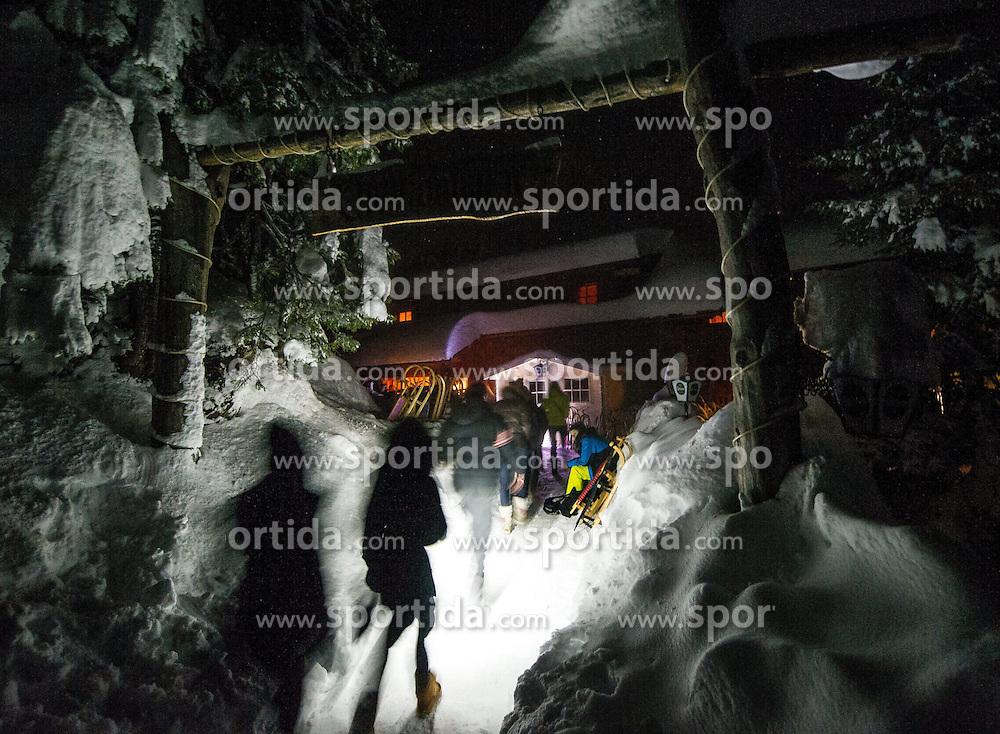 27.12.2013, Dolomitenhuette, Tristach, AUT, FIS Weltcup Ski Alpin, Lienz, Abendessen Dolomitenhuette, im Bild Dolomitenhuette // during press dinner at Dolomitenhuette for Ladies Skiworldcup at Hauptplatz, Tristach, Austria on 2013-12-27, EXPA Pictures © 2013 PhotoCredit: EXPA/ Michael Gruber