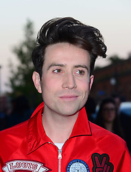 Nick Grimshaw attends David Beckham first H&M swimwear collection launch party ahead of its release into shops on May 22, at Shoreditch House,  London, United Kingdom. Wednesday, 14th May 2014. Picture by Nils Jorgensen / i-Images