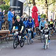 NLD/Amersfoort/20180929 - Bn-er fietsen de Zuiderzee Klassieker 2018, Gert Jacobs en Mart Karens