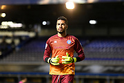 Rochdale goalkeeper (on loan from Brighton and Hove Albion) Robert Sanchez) (25) during the EFL Sky Bet League 1 match between Coventry City and Rochdale at the Trillion Trophy Stadium, Birmingham, England on 16 November 2019.