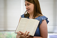 Emily Woock, director of parish music at Redeemer Lutheran Church, Elmhurst, Ill., leads a workshop during the 2017 Institute on Liturgy, Preaching and Church Music on Tuesday, July 25, 2017, at Concordia University Chicago in River Forest, Ill. LCMS Communications/Erik M. Lunsford