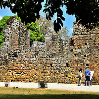Dominican Convent in Panamá Viejo, Panama City, Panama<br />