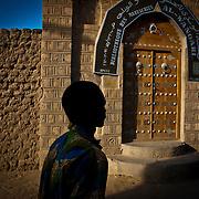 Bibliotheque des Manuscripts  Al - Wangari.Timbuktu. Mali.
