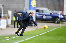 Hearts Head Coach Robbie Neilson. half time - Partick Thistle 0 v 1 Hearts, Ladbrokes Premiership match played 27/89/2016 at Firhill.