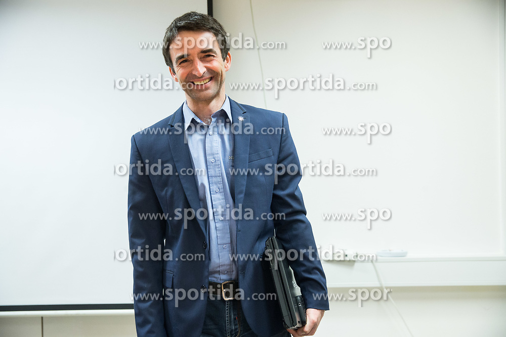 Franci Petek, new director during meeting of Executive Committee of Ski Association of Slovenia (SZS), on March 15, 2017 in SZS, Ljubljana, Slovenia. Photo by Vid Ponikvar / Sportida