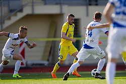 Agim Ibraimi of NK Domzale during football match between NK Domzale and NK Celje in Round #20 of Prva liga Telekom Slovenije 2017/18, on April 18, 2018 in Sports Park Domzale, Domzale, Slovenia. Photo by Urban Urbanc / Sportida