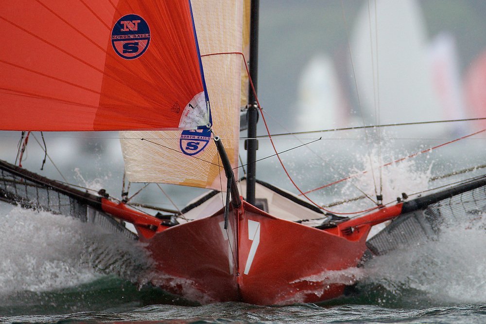AUSTRALIA, Sydney Harbour, 21st February, JJ Giltinan Championship, Race 6, Gotta Love It 7.