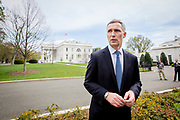 Secretary General in NATO, Mr. Jens Stoltenberg, visits the White House and the US President Barack Obama.