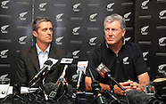 Cricket - NZ Coach John Wright