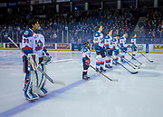 KELOWNA, CANADA - JANUARY 10:  Pepsi Player of the game in the lineup at the Kelowna Rockets game on January 10, 2018 at Prospera Place in Kelowna, British Columbia, Canada.  (Photo By Cindy Rogers/Nyasa Photography,  *** Local Caption ***