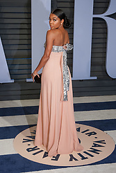 March 4, 2018 - Beverly Hills, California, U.S - Gabrielle Union on the red carpet of the 2018 Vanity Fair Oscar  Party held at the Wallis Annenberg Center in Beverly Hills,  California on Sunday March 4, 2018. (Credit Image: © Prensa Internacional via ZUMA Wire)