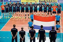 20170617 NED: FIVB Volleybal World League 2017 The Netherlands - Slovakia: Den Haag <br />Team The Netherlands<br />&copy;2017-FotoHoogendoorn.nl / Pim Waslander