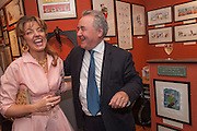 PETRONELLA WYATT; PETER MCKAY, Elliott and Thompson host a book launch of How the Queen can Make you Happy by Mary Killen.- Book launch. The O' Shea Gallery. St. James's St. London. 20 June 2012.