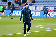Fernando Forestieri of Sheffield Wednesday warming up for the EFL Sky Bet Championship match between Sheffield Wednesday and Nottingham Forest at Hillsborough, Sheffield, England on 9 April 2019.